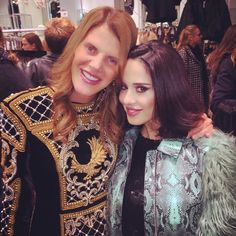 #PaolaIezzi Paola Iezzi: With the #glamorous #sweet #FashionIcon #stylish and #funny @anna_dello_russo at H&M #balmain for #HM ❤️ my #coat @aujourlejour_official ❤️ #makeup @andrea.sheehan ❤️ #annadellorusso #milano #event #HM #balmain #piazzaduomo #collection #HMbalmainparis