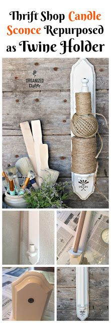 Candle Sconce Twine