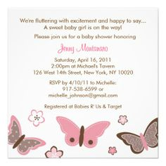 Butterfly Baby Shower Invitations Best Of Trendy Pink butterfly Baby Shower Invi. Butterfly Baby Shower Invitations Best Of Trendy Pink butterfly Baby Shower Invitations Tribal Baby Shower, Butterfly Baby Shower, Butterfly Party, Pink Butterfly, Butterfly Design, Butterfly Kisses, Baby Shower Invitations For Boys, Baby Shower Themes, Baby Shower Decorations