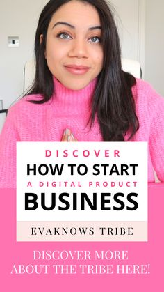 The Evaknows Tribe is full of super helpful video tutorials, business resources, and even a thriving creator community...  Create a successful digital product online business including what platforms to use, the best products to create and how to scale your traffic and sales each month.  Discover more about how to start building your digital product passive income from scratch!  make money online | online business | digital product ideas | online business ideas | passive income ideas