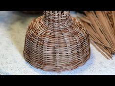 (14) Абажур. Запись прямого эфира. Часть 1 - YouTube Rattan Pendant Light, Useful Life Hacks, Wicker Baskets, Recycling, Weaving, Youtube, Home Decor, Craft, Knots