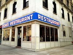 "See 911 photos from 8553 visitors about milkshakes, seinfeld diner, and breakfast food. ""They never filmed Seinfeld here, just the exterior. Places In New York, Famous Buildings, New York City Travel, Restaurant New York, Places Ive Been, Travel Inspiration, Nyc, Seinfeld, Gotham"