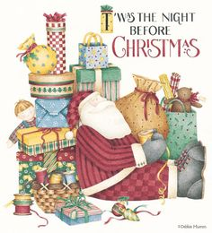 T'was the Night Before Christmas, Debbie Mumm*