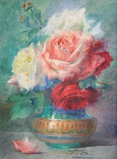 Blanche Odin  Bouquet of Flowers  Late 19th century