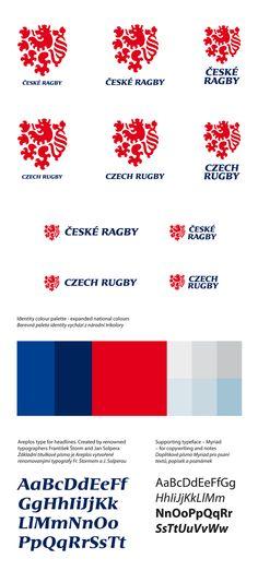 Czech Rugby Logo Design