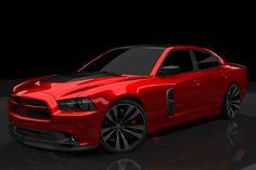 seat covers for 2014 dodge charger   SEMA Preshow: 2011 RedLine Dodge Charger Loves Carbon Fiber