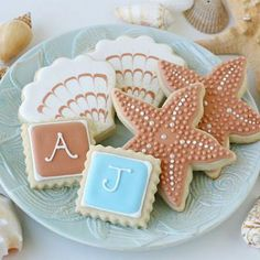 beach themed cookies | Beach Themed Cookies {How-To} - Tip Junkie