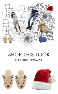 Santa Baby Pinterest Challenge by wild3cat on Polyvore featuring Brooks, Paul Brodie, Arteriors and fasionistas Santa Baby I am almost ready for Christmas but I need a few Just Fab items first......like this beautiful warm & cozy long sweater, so lovely & just perfect for all the holiday festivities ,  add a pair of light brown edgy heeled booties  and a gorgeous  pair of blue denim distressed jeans , add a cute blue  bag , some Just Fab bracelets and you're all set...Just Fab has it all…