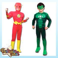 Corram que esta esgotando!!! Fantasia Flash e Lanterna Verde Luxo Infantil Liga da Justiça C/ musculatura por apenas...  Flash  http://www.fantasiascarol.com.br/ListaProdutos.asp?IDLoja=25984&IDProduto=4130258  Lanterna Verde   http://www.fantasiascarol.com.br/ListaProdutos.asp?IDLoja=25984&IDProduto=4278649