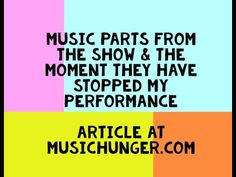 my performance, they have stopped it - article at - musichunger + parts from the show Steps To Success, Give It To Me, How To Get, Old Video, Stop It, My Past, I Am Bad, Your Message, Confident