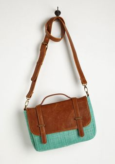 Case of the Spun Days Bag in Mint, @ModCloth