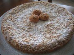 Ingredienti: -50 gr farina -200 gr. fecola -200 gr. zucchero -150 gr. burro -4 uova intere -150 gr amaretti -1/2 bustina lievito per dolci -1 pizzico di sale -zucchero a velo  Metodo: Mescolare...