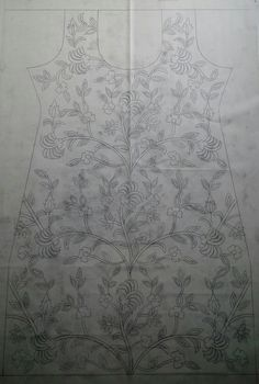 Hand Work Embroidery, Hand Embroidery Designs, Embroidery Art, Embroidery Patterns, Pattern Art, Pattern Design, Fancy Dress Design, Apple Wallpaper Iphone, Pencil Design