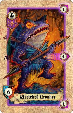 Lords of War: Fantasy Battles by Black Box Games — Kickstarter Game Card Design, Board Game Design, Black Box Game, Tcg Games, Card Ui, Fantasy Battle, Monster Cards, Different Art Styles, Card Book