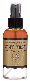 | Zum Mist Frankincense & Myrrh Aromatherapy Room and Body Spray (4 oz.)