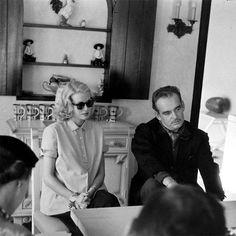 Princess Grace und Prinz Rainier von Monaco am Meer Sommerhaus Kelly Familie in Ocean City, NJ. (September 1956)