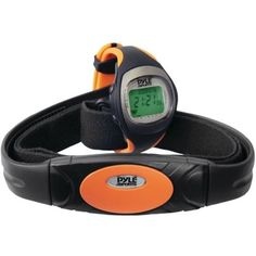 PYLE Heart Rate Monitor Watch with Maximum & Average Heart Rate PHRM34 PHRM34 68