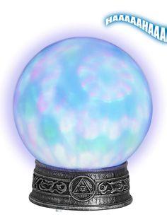Boule de cristal lumineuse : Cette décoration de table mesure environ 22 x 25…