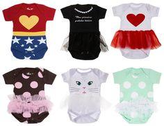 A loja virtual Amo Muito está lançando uma nova categoria chamada baby com camisetas, bodys e acessórios super divertidos para os pequenos.