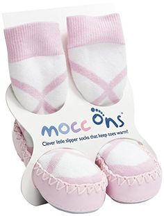 Mocc Ons Ballerina Pink 1218 Months *** You can find more details by visiting the image link. (This is an affiliate link) #BabyBoySocks