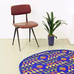 Casa Atlântica - Alfombra redonda / Round rug NOIVA - L