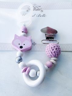 Pacifier clip pacifier holder baby accessorie by MeAndBelle00