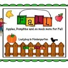 All Things Fall is a Science, Math and Literacy packet for your fall units. Included is...  Science Apple Life Cycle- Color the stages, Label stage...