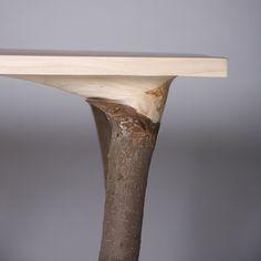Table leg.
