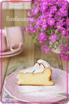Japanese cheesecake {by Paula, With Paws on the Masa}
