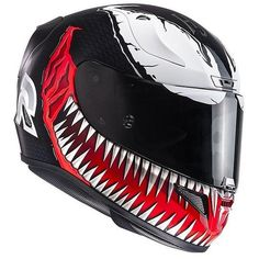 HJC motorcycle helmet Integral RPHA 11 Limited Edition Marvel Venom MC1 is available at a great price: discover our extensive catalog and buy only the best products for your road trips. Please Re-Pin for later 😍💞 casco airoh aviator, airoh aviator 2.3, pista gp r, buy motorcycle helmets, agv pista carbon, alpinestar spx, hjc helmets canada Hjc Motorcycle Helmets, Hjc Helmets, Buy Motorcycle, Biker Accessories, Cardboard Car, Pink Football, Marvel Venom, Street Bikes, Cars Motorcycles