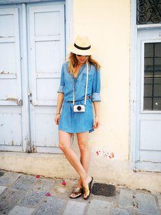 Denim Dress / Anneli Bush