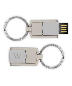 4 GB USB Flash Drive Initial Key chain | Graduation Gift