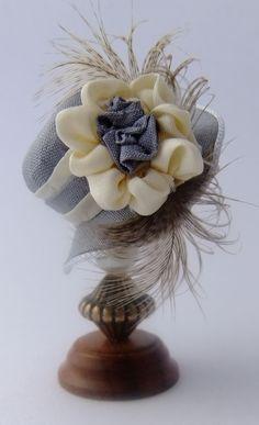 Dollhouse miniature hat by Miss Amelia