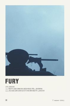 Fury alternative movie poster Visit my Store https://society6.com/andrewkwan