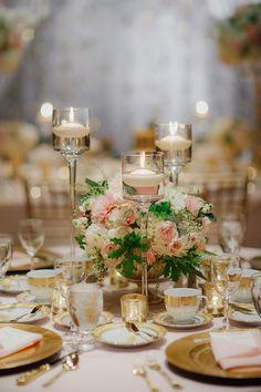 Photography: Yvonne Wong Photography - yvonne-wong.com Read More: http://www.stylemepretty.com/2014/04/08/glamorous-gold-ballroom-wedding-in-portland/