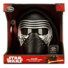 Star Wars: The Force Awakens Kylo Ren Voice Changing Mask: Amazon.co.uk: Toys & Games