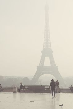 Eiffel Tower, gently