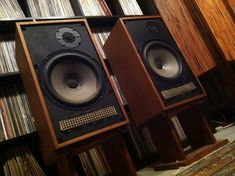 Dynaco XL Speakers in Original Boxes Monitor Speakers, Stereo Speakers, Audio Music, Hifi Audio, Audio Design, Sound Design, Loudspeaker, Audiophile, Turntable