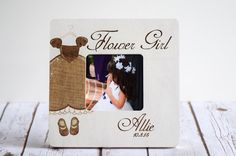 Hey, I found this really awesome Etsy listing at https://www.etsy.com/listing/243844677/flower-girl-frame-flower-girl-gift-will