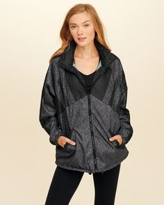 3ed50acbcc8 Hollister Oversized Colorblock Windbreaker. Just in time for fall. ( affiliate)