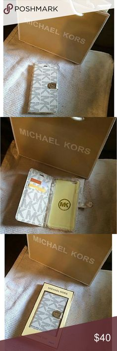 """""""Coming Soon"""" MK Flip Wallet Case Iphone 6 Plus """"Coming soon"""" MK cases for Iphone 6 Plus. More than 20 will be available. (Bag not included) Michael Kors Accessories Phone Cases"""