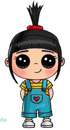 Kawii drawings cute drawings easy cartoon drawings art drawings of people easy kawaii girl drawings step . Kawaii Girl Drawings, Art Kawaii, Arte Do Kawaii, Easy Cartoon Drawings, Cute Disney Drawings, Cute Girl Drawing, Easy Drawings, Kawaii Room, Cute People Drawings