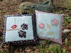 Mud, Pies and Pins: Shelburne Falls cushions/pillows