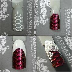 New cats eye nails design manicure ideas 3d Acrylic Nails, 3d Nails, Cute Nail Art, 3d Nail Art, Glam Nails, Beauty Nails, Uñas One Stroke, Dragon Nails, Nail Polish Crafts