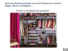 Inloopkast Van Elfa : 20 besten pimp up your kleiderschrank präsentation bilder auf