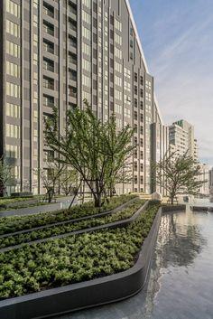 Urban Planning And Landscape Architecture Msu Landscape Architecture Design, Landscape Walls, Urban Landscape, Landscaping Work, Landscaping Software, Public Space Design, Urban Planning, Water Features, Garden Design