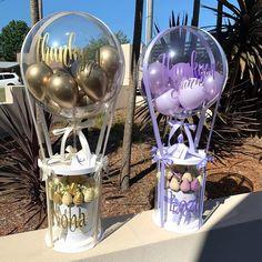Balloon Gift, Balloon Box, Balloon Garland, Bubble Balloons, Baby Shower Balloons, Birthday Balloon Decorations, Birthday Balloons, Balloon Bouquet, Balloon Flowers