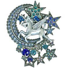 Cloudwalker Moon Waltz Pin Pendant: Kirks Folly Online Web Store