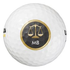Attorney Monogram Executive Gift Pack Of Golf Balls