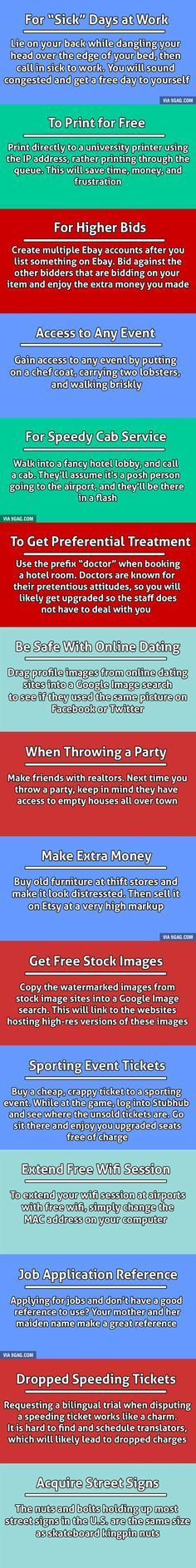 15 Unethical Life Hacks To Help You Get What You Want.